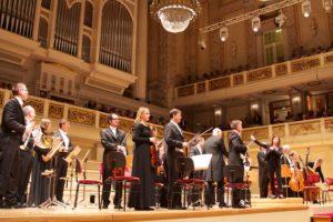 Orchester beim Benefizkonzert 2018