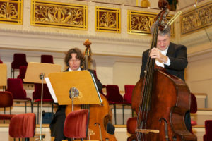 Musiker beim Benefizkonzert